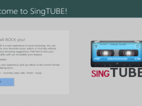 Windows 8 Application – SingTUBE
